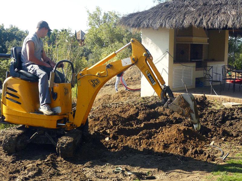 Instalacion sistemas de riego para jardin