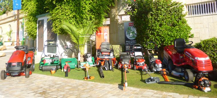 Maquinaria jardin Rimesa