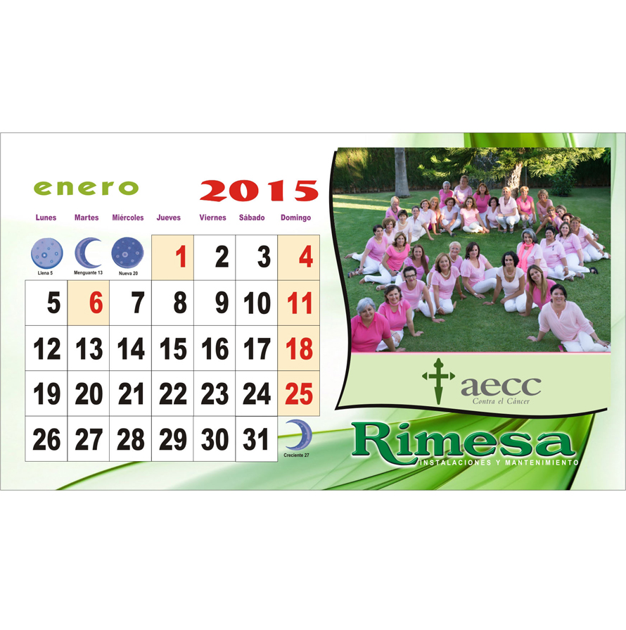 CalendariosolidarioRimesa2015