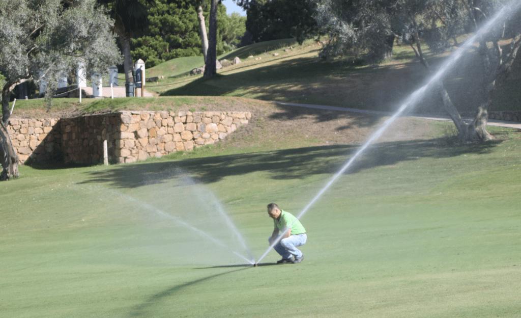 programadores de riego campos de golf