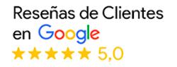 Reseñas de clientes Google